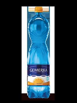 Gemerka ochutená Pomaranč 1,5l